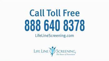 Life Line Screening TV Spot, 'Screenings for Cardiovascular Diseases' - Thumbnail 5