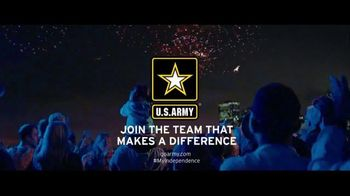 US Army TV Spot, 'Moment of Independence: Fireworks Show' - 2243 commercial airings
