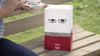 Checkers & Rally's Sunday Stackers TV Spot, 'Sweet Teeth with Mr. Bag' - Thumbnail 3