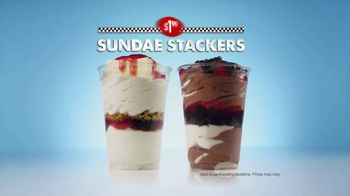 Checkers & Rally's Sunday Stackers TV Spot, 'Sweet Teeth with Mr. Bag' - Thumbnail 8