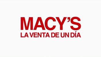 Macy's la Venta de un Día TV Spot, 'Ofertas del día' [Spanish] - Thumbnail 1