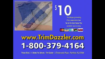 Trim Dazzler TV Spot - Thumbnail 9