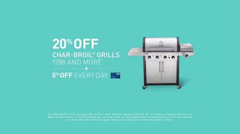 Lowe's Father's Day Savings TV Spot, 'Grills and Appliances' - Thumbnail 3