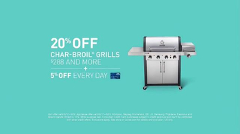Lowe's Father's Day Savings TV Spot, 'Grills and Appliances' - Thumbnail 4