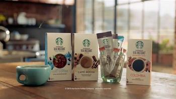Starbucks VIA Instant TV Spot, 'On the Balcony' - Thumbnail 8