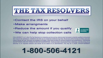 The Tax Resolvers TV Spot, 'Back Taxes'