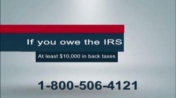 The Tax Resolvers TV Spot, 'Back Taxes' - Thumbnail 2