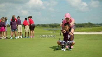 The First Tee TV Spot, 'Support The First Tee' Featuring Paula Creamer - Thumbnail 6