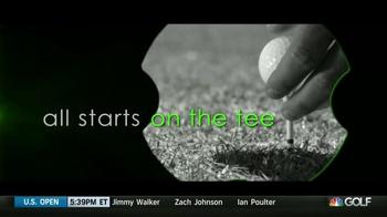 Evolve Golf Epoch Tee TV Spot, 'Radius Posts' - Thumbnail 2