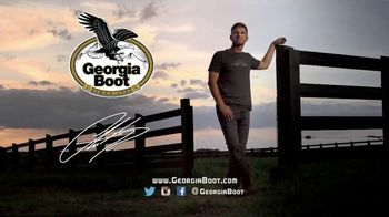 Georgia Boot TV Spot, 'Sunup to Sundown' Featuring Clint Bowyer - 600 commercial airings