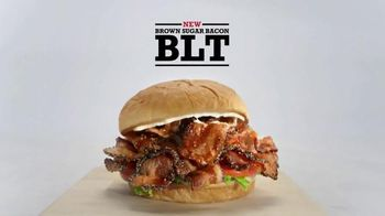 Arby's Brown Sugar Bacon BLT TV Spot, 'The BLT' - 1121 commercial airings