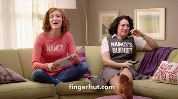 FingerHut.com TV Spot, 'Nancy and Nancy's Budget: A Hawk' - Thumbnail 7