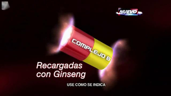 Shot B Ginseng TV Spot, 'Aumenta la respuesta del cuerpo' [Spanish] - Thumbnail 3