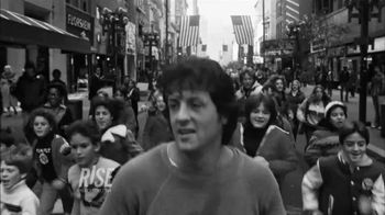 RISE TV Spot Featuring Sylvester Stallone in Rocky