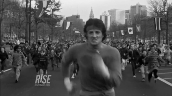 RISE TV Spot Featuring Sylvester Stallone in Rocky - Thumbnail 4