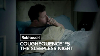 Robitussin DM Nighttime Cough TV Spot, 'Coughequence 5: Sleepless Night' - Thumbnail 2