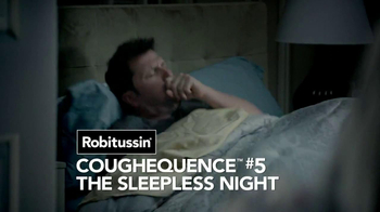 Robitussin DM Nighttime Cough TV Spot, 'Coughequence 5: Sleepless Night' - Thumbnail 3