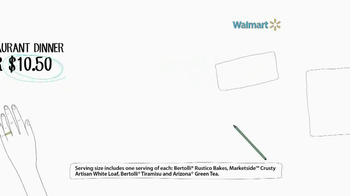 Walmart TV Spot, 'Bertolli' - Thumbnail 3