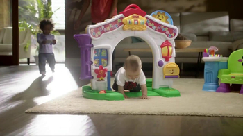 Fisher Price Laugh & Learn Learning Home & Story Learning Chair TV Spot - Thumbnail 2