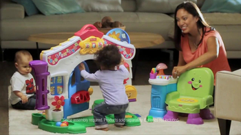 Fisher Price Laugh & Learn Learning Home & Story Learning Chair TV Spot