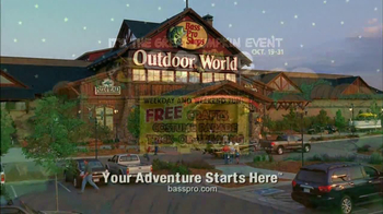 Bass Pro Shops Fall Sale & Event TV Spot, 'More Time, Less Money' - Thumbnail 9