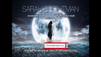 Sarah Brightman Dreamchaser World Tour TV Spot, 'Angel of Music' - Thumbnail 7