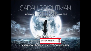 Sarah Brightman Dreamchaser World Tour TV Spot, 'Angel of Music' - Thumbnail 8