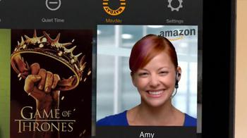 Amazon Kindle Fire HDX TV Spot, 'Mayday' - Thumbnail 10