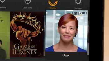 Amazon Kindle Fire HDX TV Spot, 'Mayday' - Thumbnail 4
