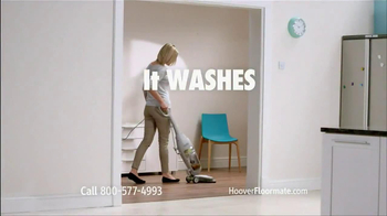 Hoover Floormate Deluxe TV Spot, 'Wood and Ceramic Floors' - Thumbnail 3