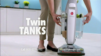 Hoover Floormate Deluxe TV Spot, 'Wood and Ceramic Floors'