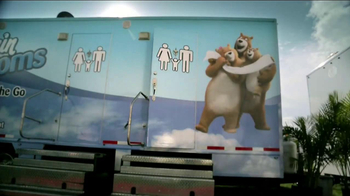 Charmin Relief Project TV Spot, 'NFL Tailgating Potties' - Thumbnail 9