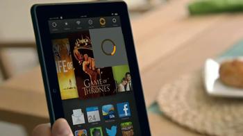 Amazon Kindle Fire HDX TV Spot, 'Kindle Free Time' - Thumbnail 2