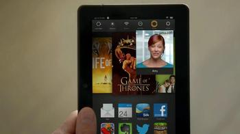 Amazon Kindle Fire HDX TV Spot, 'Kindle Free Time' - Thumbnail 4