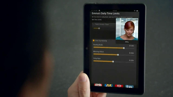 Amazon Kindle Fire HDX TV Spot, 'Kindle Free Time' - Thumbnail 6