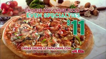 Papa John's Italian Meats & Four Cheese Pizza TV Spot - Thumbnail 10