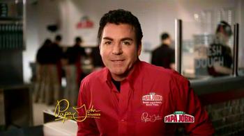 Papa John's Italian Meats & Four Cheese Pizza TV Spot - Thumbnail 3