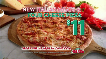 Papa John's Italian Meats & Four Cheese Pizza TV Spot - Thumbnail 5