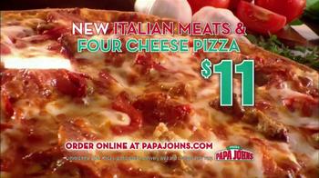 Papa John's Italian Meats & Four Cheese Pizza TV Spot - Thumbnail 6