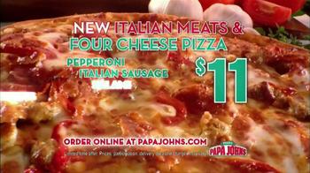 Papa John's Italian Meats & Four Cheese Pizza TV Spot - Thumbnail 7