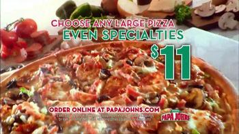 Papa John's Italian Meats & Four Cheese Pizza TV Spot - Thumbnail 9