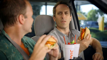 Sonic Drive-In Spicy Chicken Sandwiches TV Spot, 'New Word' - Thumbnail 6