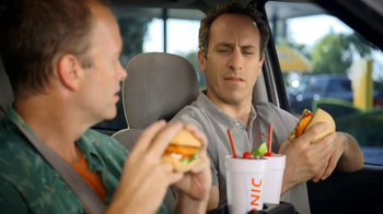Sonic Drive-In Spicy Chicken Sandwiches TV Spot, 'New Word' - Thumbnail 8