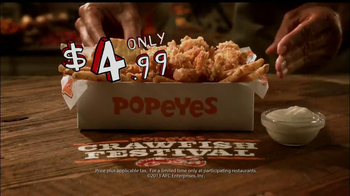 Popeyes Crawfish Festival TV Spot