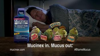 Mucinex Fast-Max Night Time TV Spot, 'Sleep'
