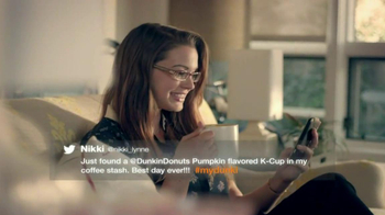 Dunkin' Donuts K-Cups TV Spot, 'Best Day Ever'