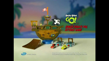 Angry Birds Go! Jenga Pirate Pig Attack TV Spot, 'Cannon' - Thumbnail 9