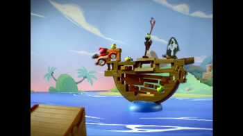 Angry Birds Go! Jenga Pirate Pig Attack TV Spot, 'Cannon'