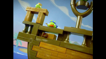Angry Birds Go! Jenga Pirate Pig Attack TV Spot, 'Cannon' - Thumbnail 4