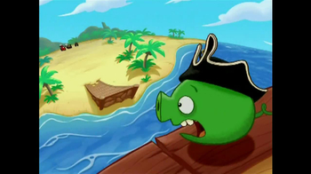 Angry Birds Go! Jenga Pirate Pig Attack TV Spot, 'Cannon' - Thumbnail 5
